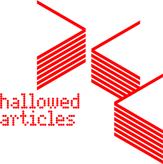 hallowed articles